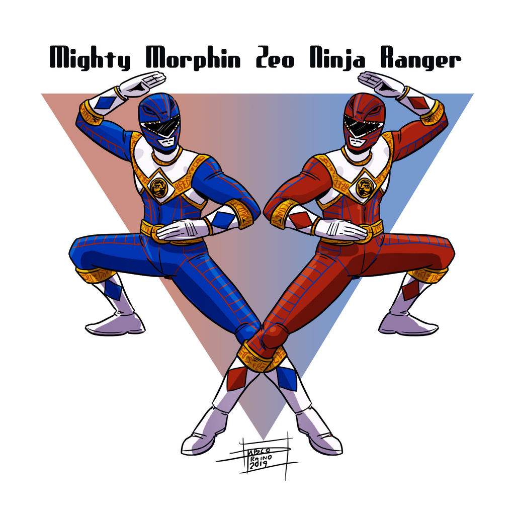 Mighty Morphin Zeo Ninja Ranger By OptimusPraino On DeviantArt