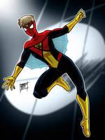 Future Spiderman by OptimusPraino