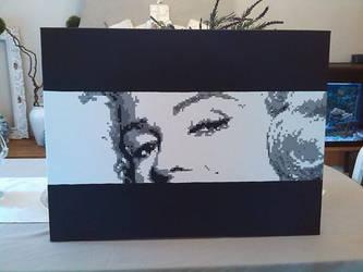 Marilyn monroe by Negroud