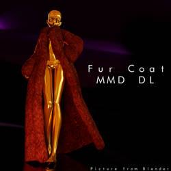 Fur Coat MMD DL by KadajoGameOver