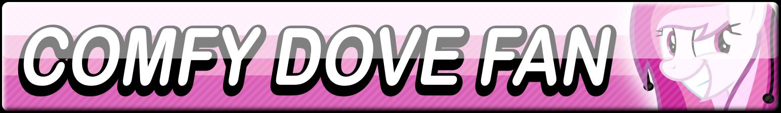 Comfy Dove Fan Button by Dan4rescue