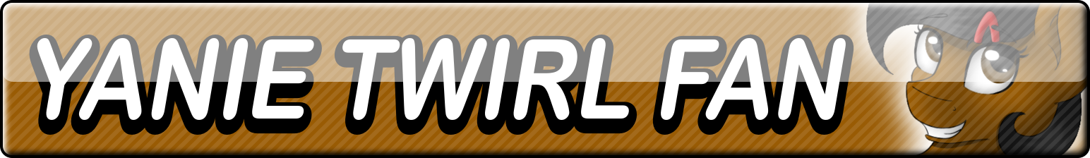 Yanie Twirl Fan Button by Dan4rescue