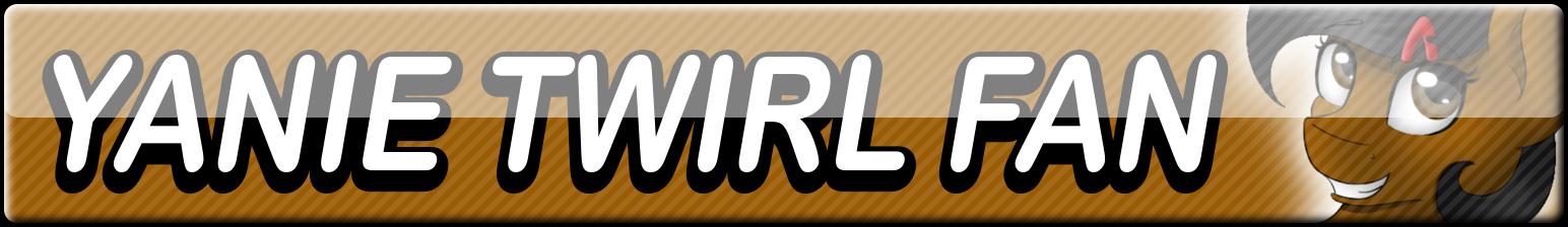 Yanie Twirl Fan Button