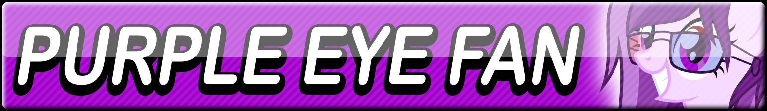 Purple Eye Fan Button by Dan4rescue