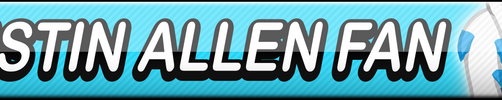 Justin Allen Fan Button by Dan4rescue