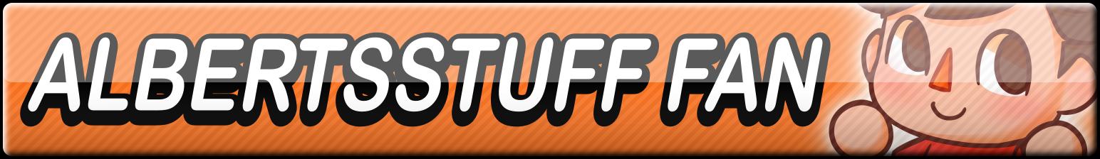 Albertsstuff Fan Button by Dan4rescue