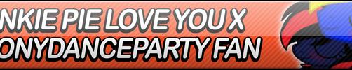 Pinkie Pie Love You x BronyDanceParty FB (Split) by Dan4rescue