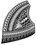 Samoan Design,upper left chest