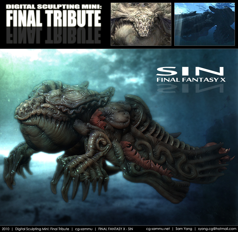 Final fantasy cg tribute