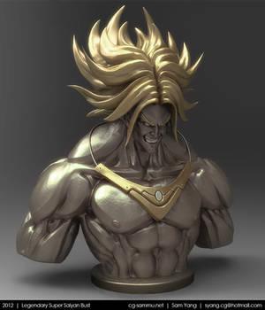 Legendary Super Saiyan Bust, Brolly 2012