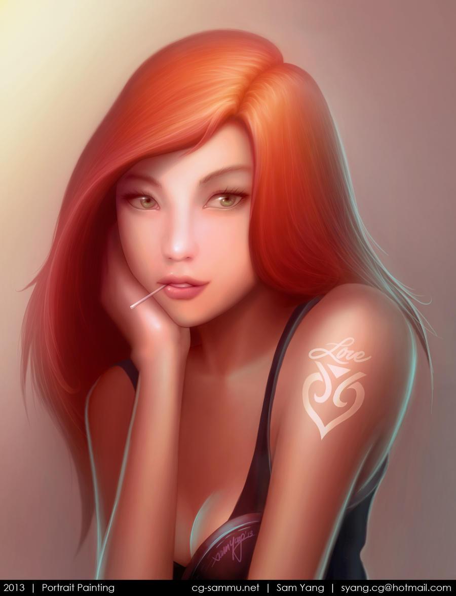 Painting2 by cg-sammu