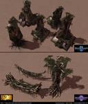 Starcraft II: Zerus and Char Environments 2013