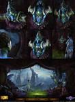 Starcraft II: Lissandra Leviathan Environment 2013