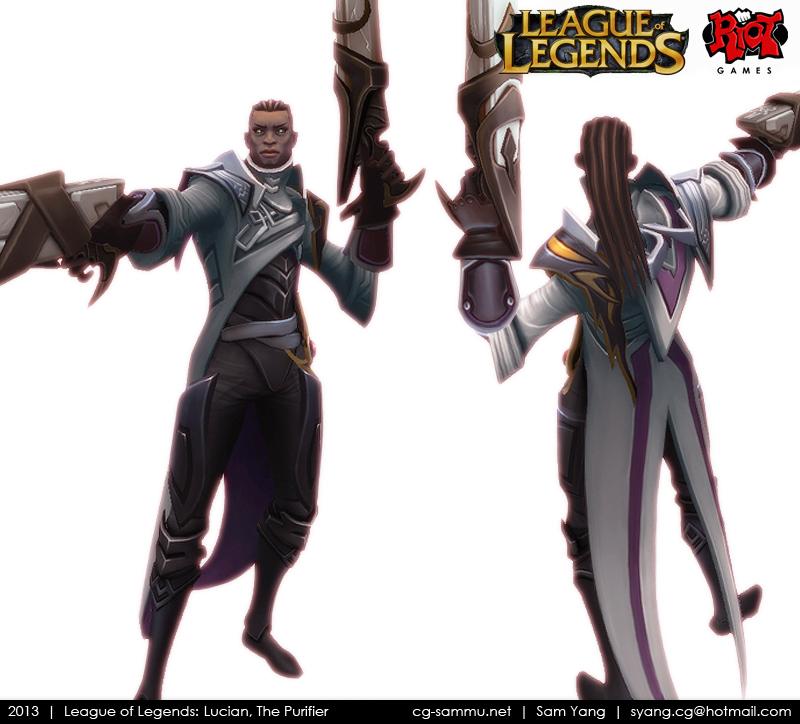 Lucian League of Legends Wallpaper League of Legends Lucian
