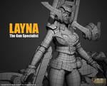 Layna Model, Work in progress