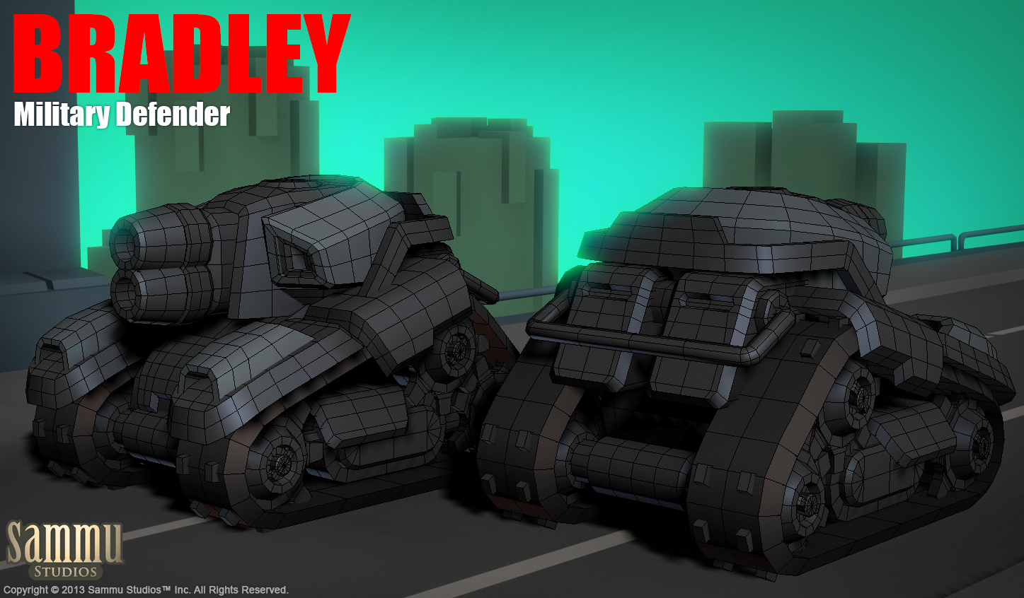 Bradley, Military Defender by cg-sammu
