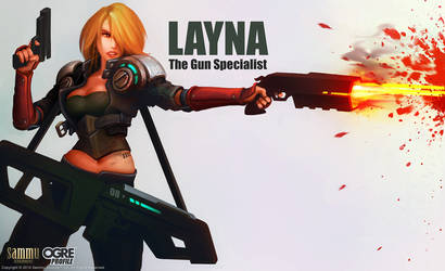 OGRE Profile: Layna by cg-sammu