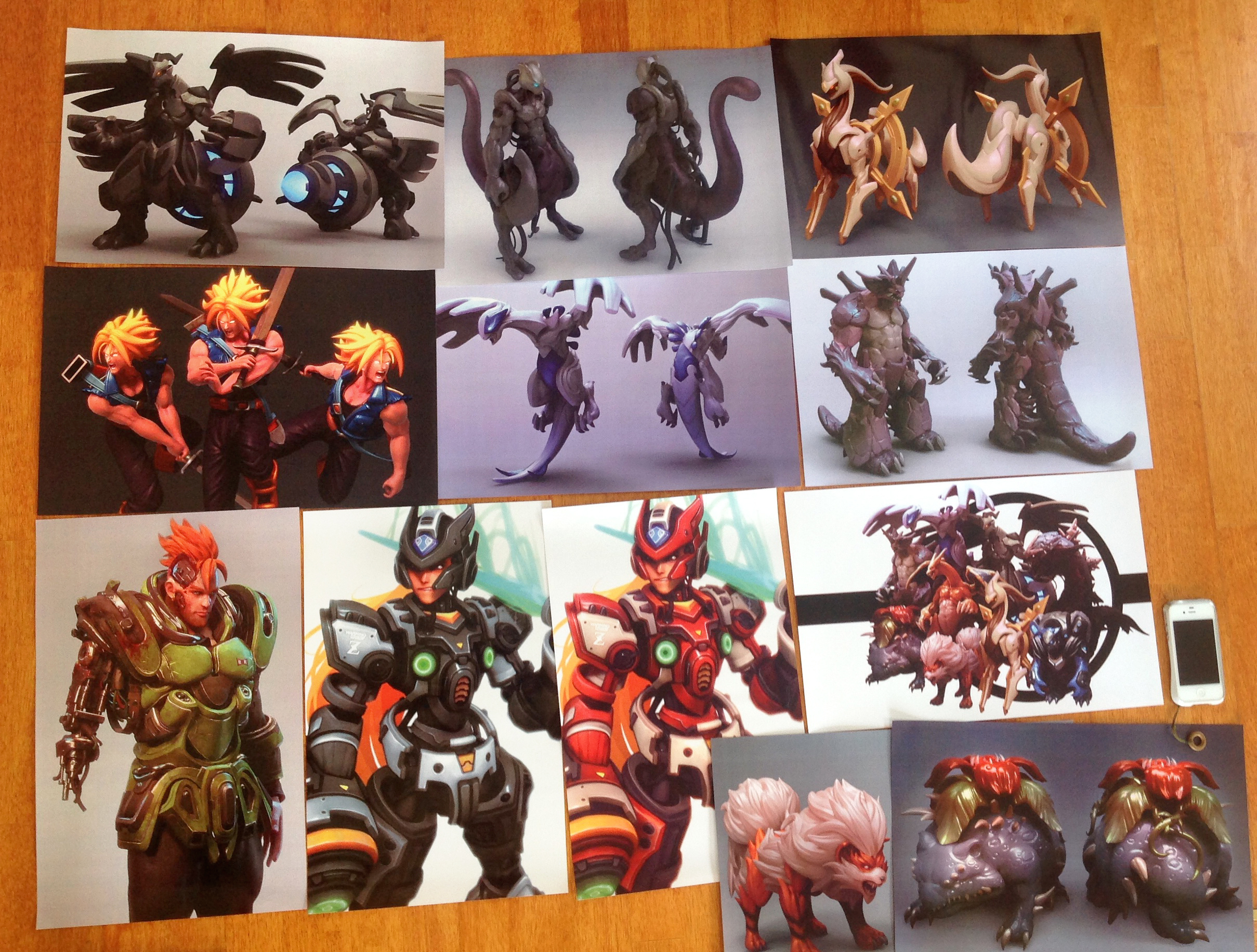 11 x 17 prints at Anime Revolution @ Vancouver! by cg-sammu