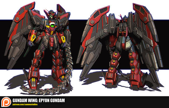 Gundam Wing: Epyon Gundam
