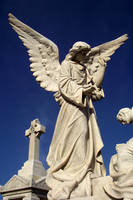 Angel Statue - full length by serp-stock