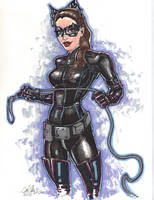 Catwoman-Dark Knight Rises by Rvalenzuela80
