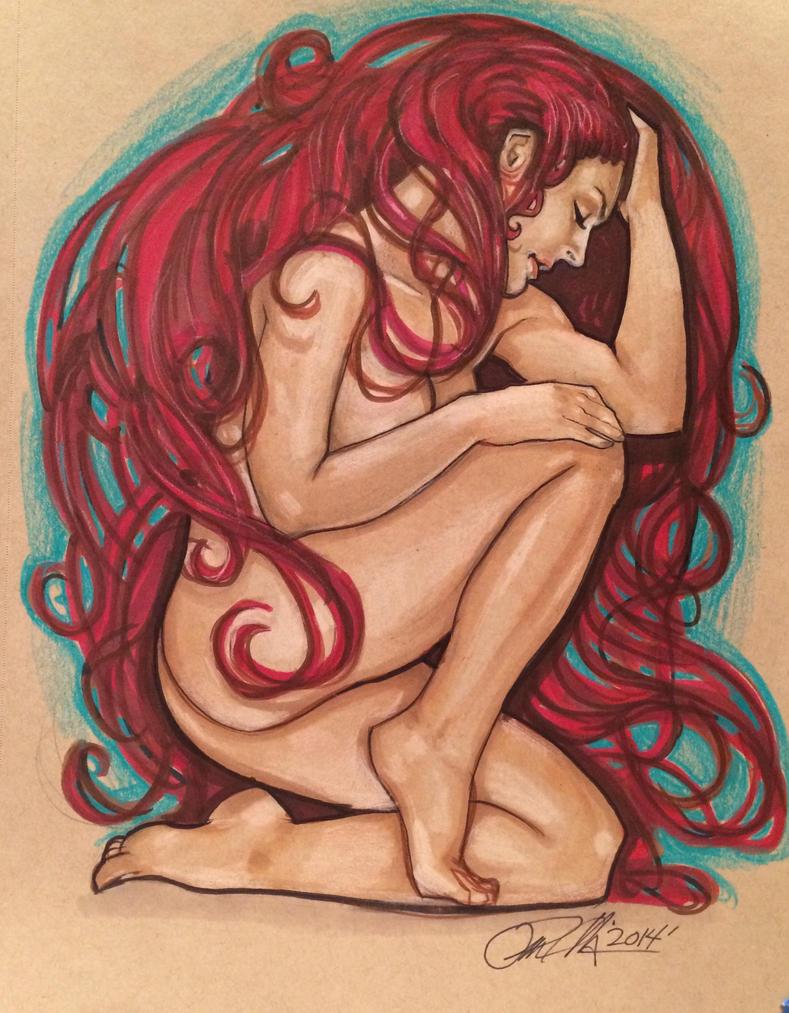 Inhuman-Medusa by Rvalenzuela80