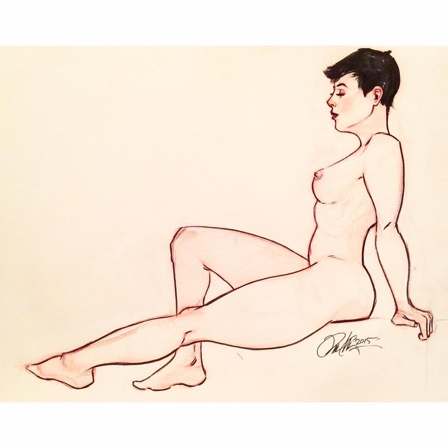 Selina Kyle bare by Rvalenzuela80