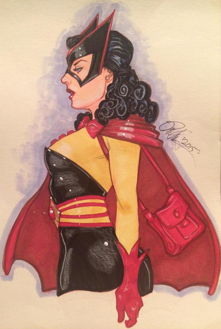 Vintage Batwoman by Rvalenzuela80
