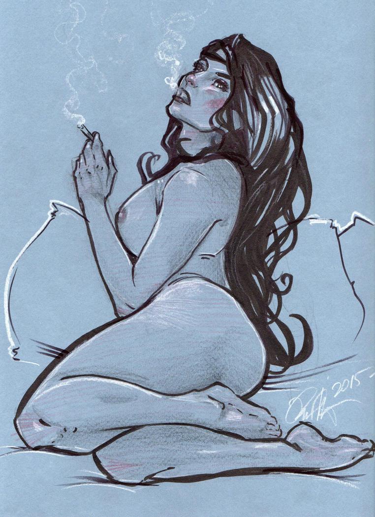 Cigarette Daydream by Rvalenzuela80