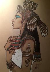 Cleopatra  by Rvalenzuela80