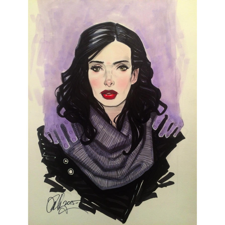 Jessica Jones  by Rvalenzuela80