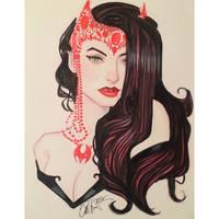 Scarlet Witch by Rvalenzuela80