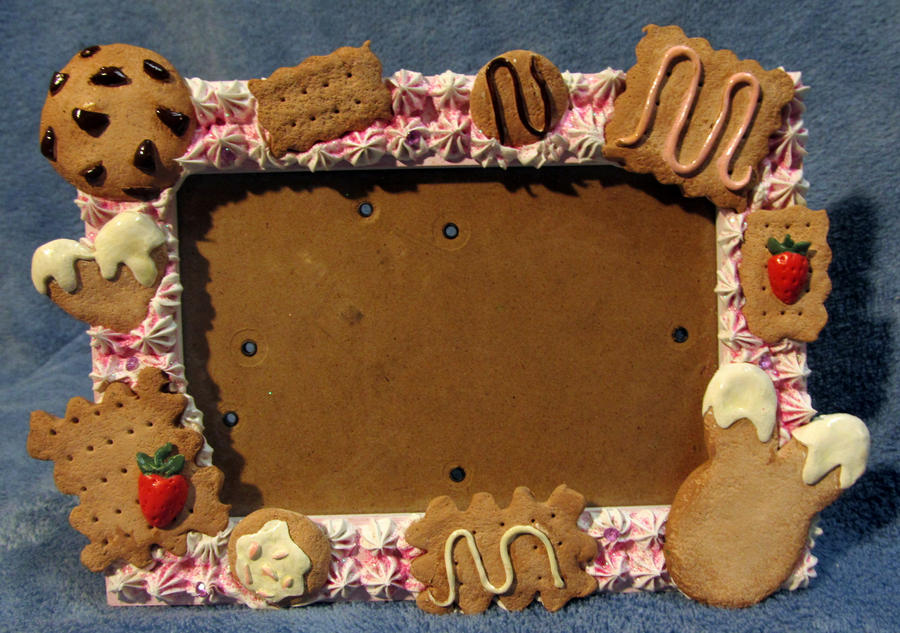FOR SALE decoden cookie frame by Ringo-Chu