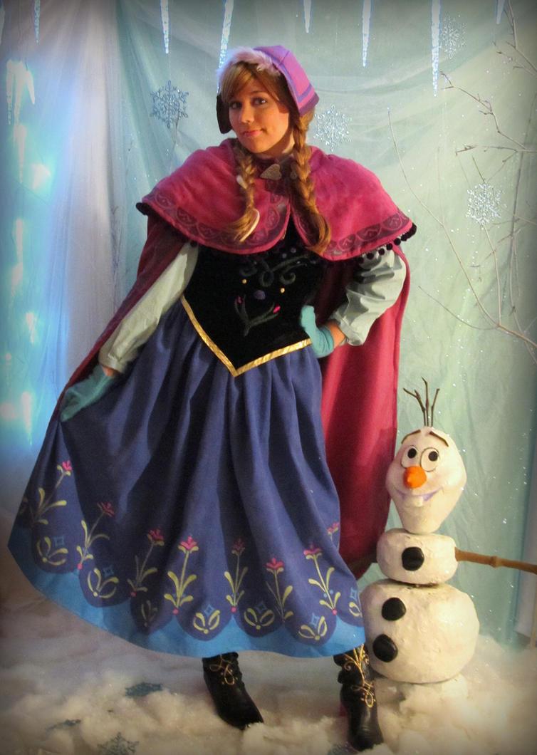 Olaf and Anna by Ringo-Chu