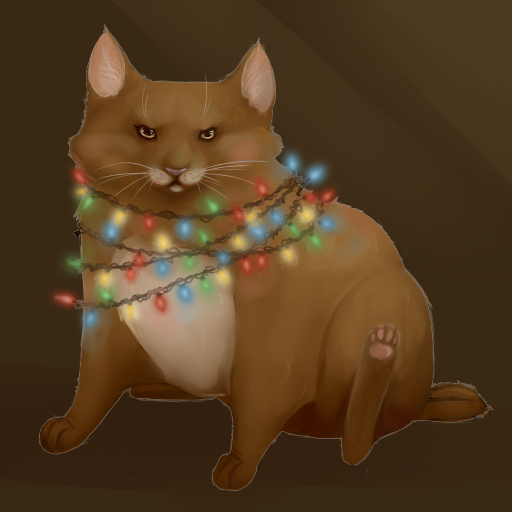 Fat cats do not like jokes by Afina-Energy