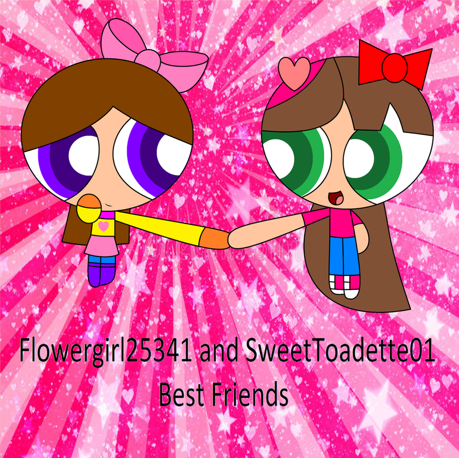 Flowergirl25341 and SweetToadette01 by Flowergirl25341