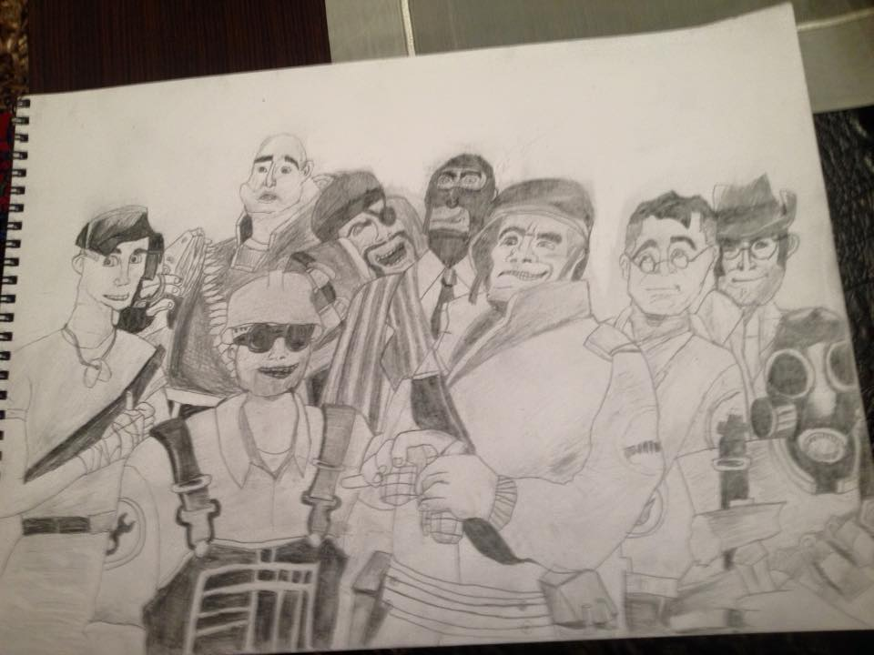 Team Fortress 2 by basilhs333