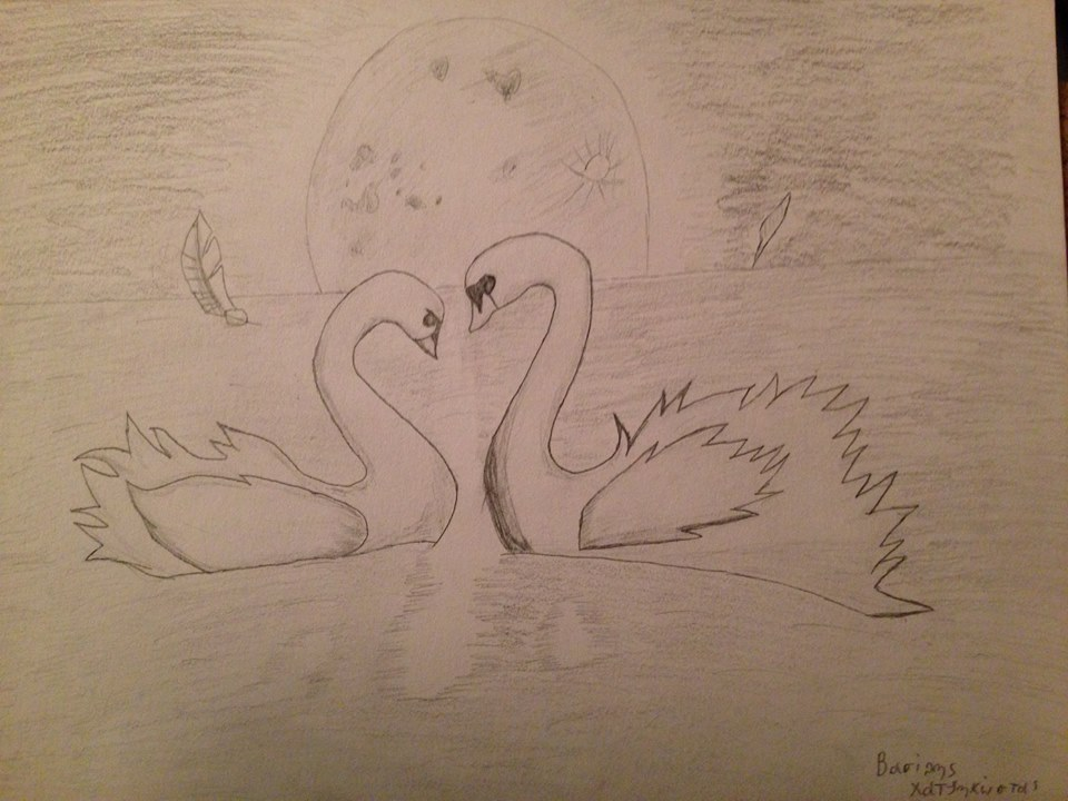 Swan In Love by basilhs333