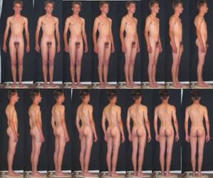 Study of the male body by Deskriuwer