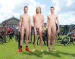 World Naked Bike Ride Amsterdam july 2th 2016 by Deskriuwer