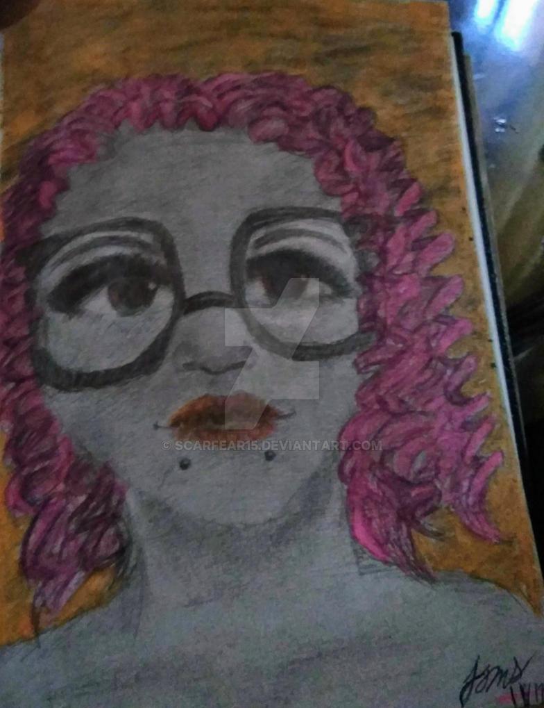 Using hi lighters and pencil (No color pencils) by scarfear15