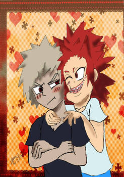 kiribaku cheek to cheek