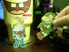 I yoinks Link LOL by Astatos-Luna