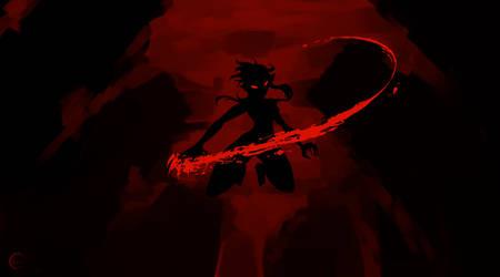 Been watching samurai jack by Astatos-Luna