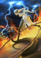 Serpent versus Magi by Uzlo