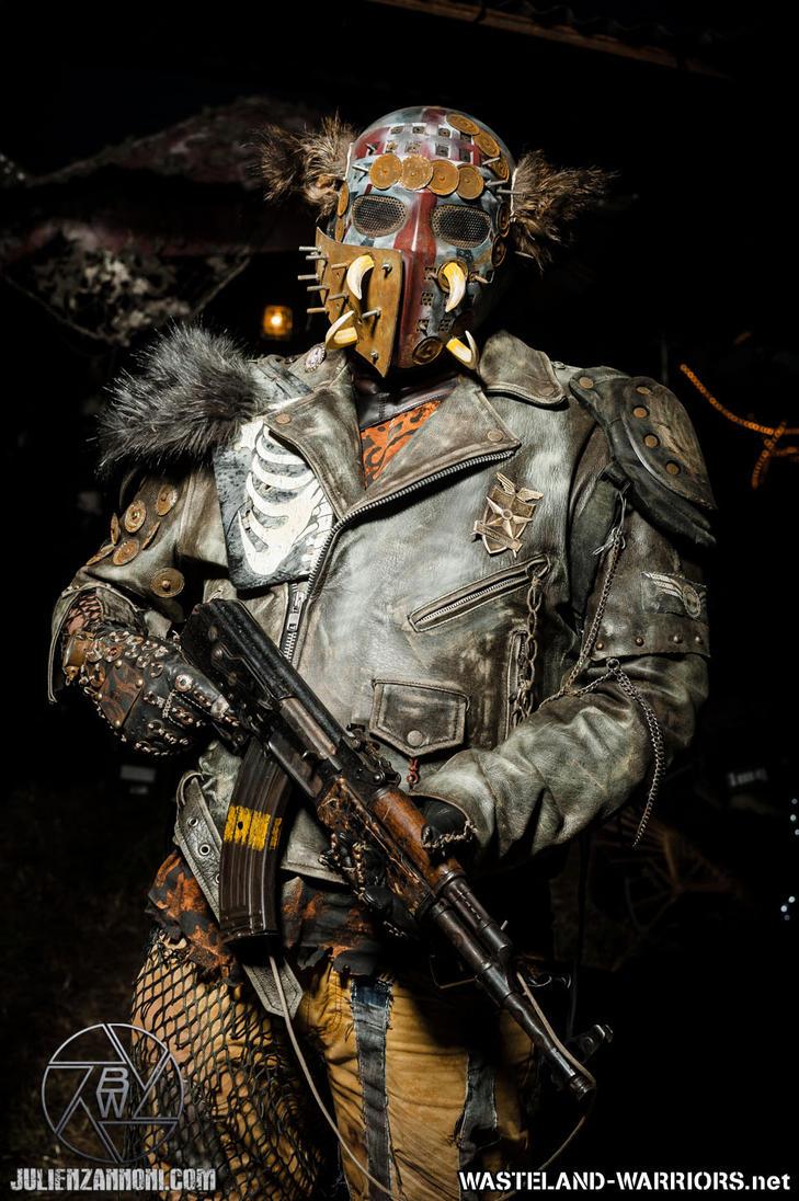 Wastelander Portraits: City Hunter by Wasteland-Warriors