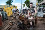 Warrioress on Bike @ W:O:A 2015