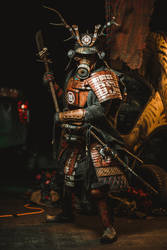 Postapocalyptic Samurai by Wasteland-Warriors