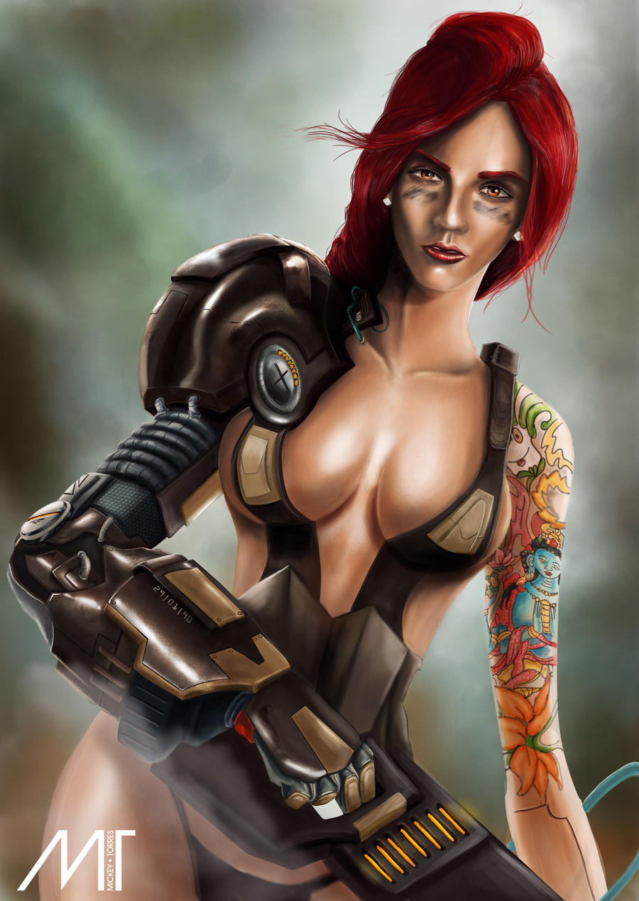 AndroidGirl by MICKEYTORRES