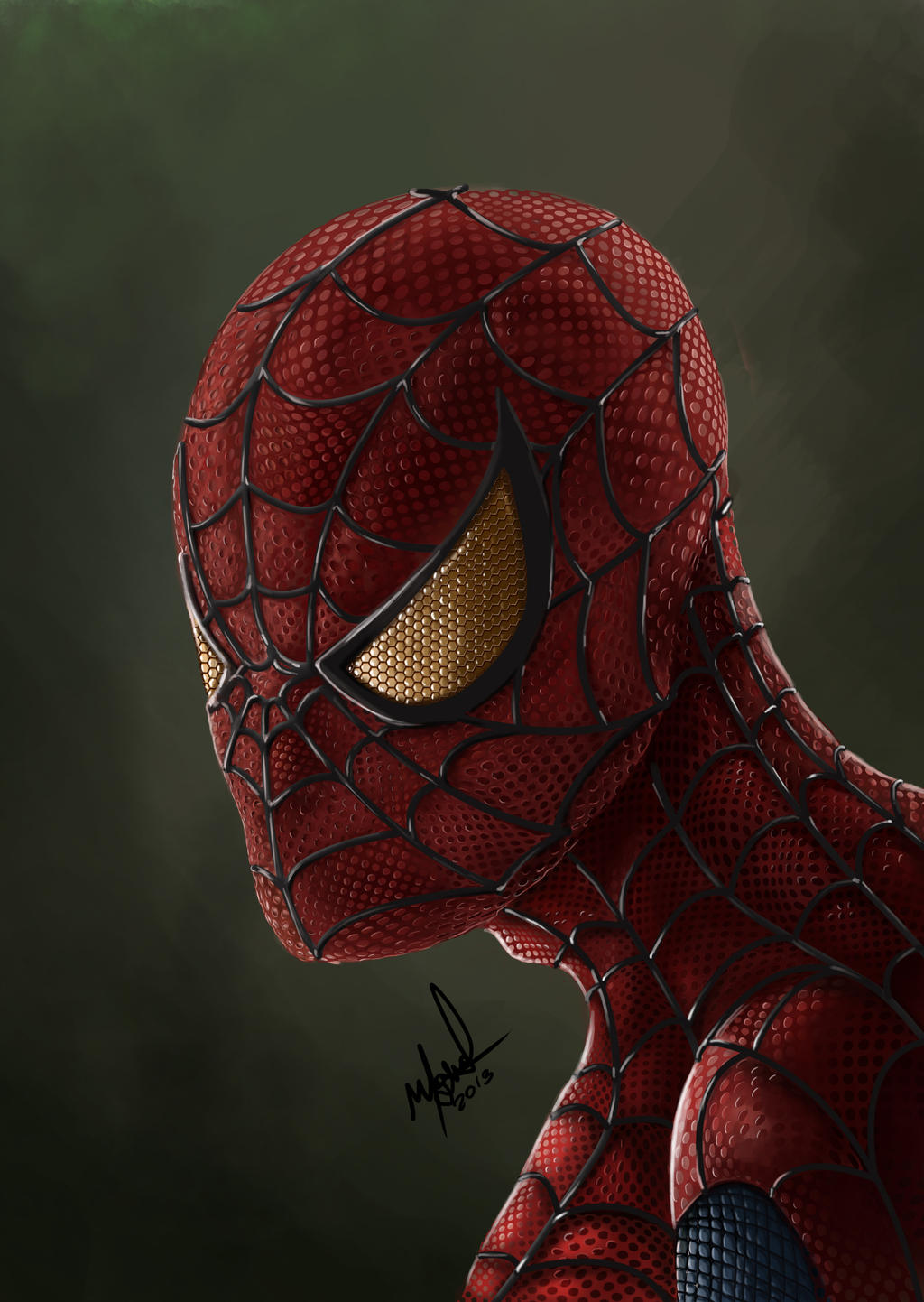 Spiderman by MICKEYTORRES